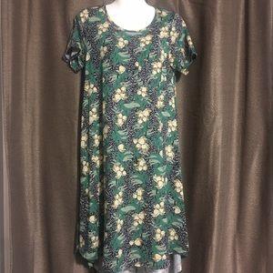 LulaRoe XS high low maxi length dress